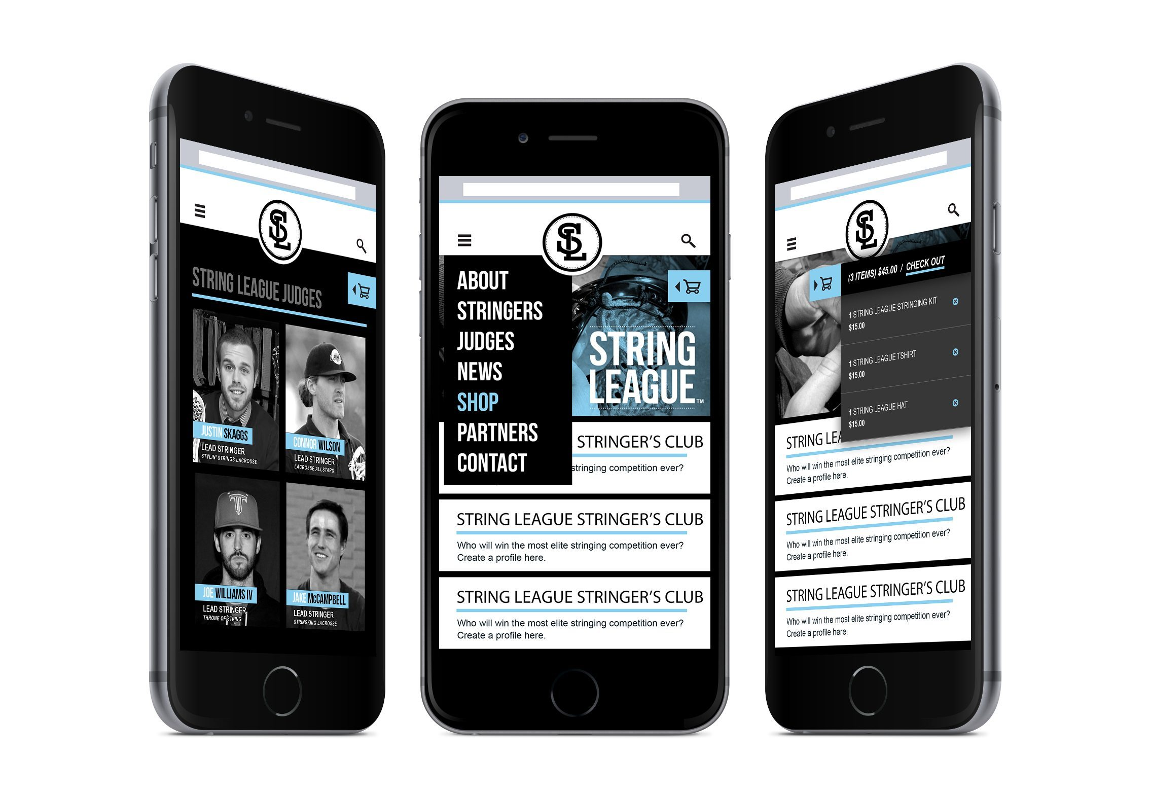string-league-mobile-website